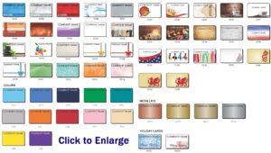 Stock Gift Card Sample