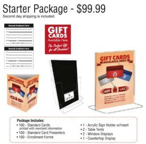 Gift Card Starter Kit