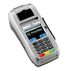 FD 150 Credit Card Terminal Front Facing