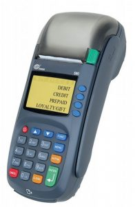PAX Technologies, updated easily. chip card reader
