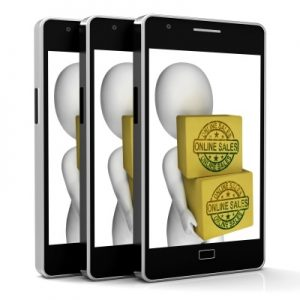 Online Sales, Mobile Processing